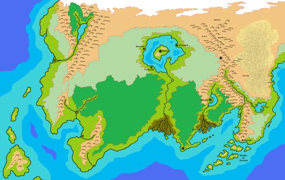 Dragon Map